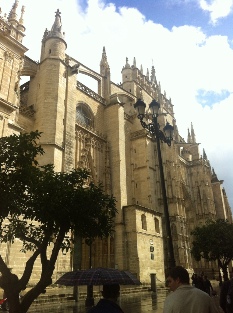 Visiting friends in Seville in March- The Cathedral