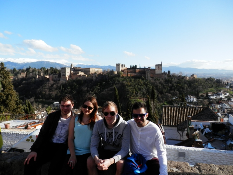 Visiting friends in Granada in March