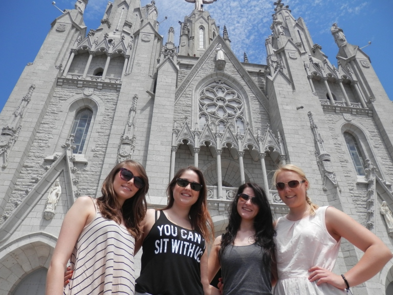 Uni girls visiting in June- Tibidabo