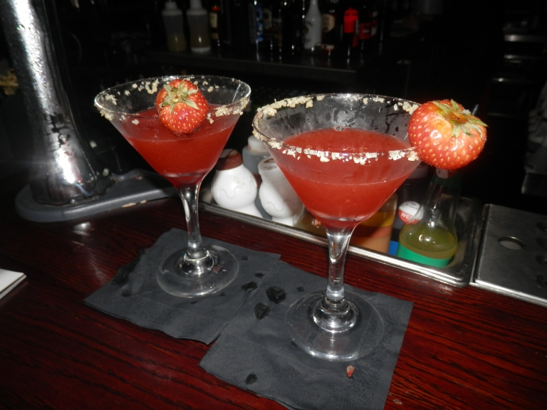 Popping candy strawberry margherita